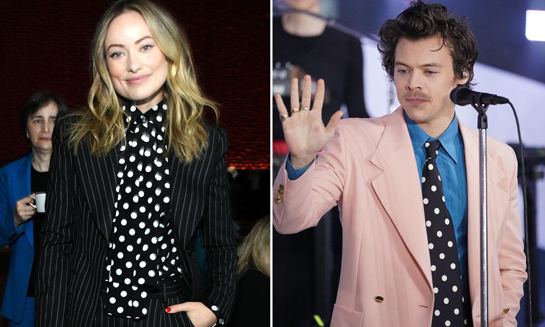 ¿Y si los armarios de Harry Styles y Olivia Wilde hubieran anticipado su historia de amor?