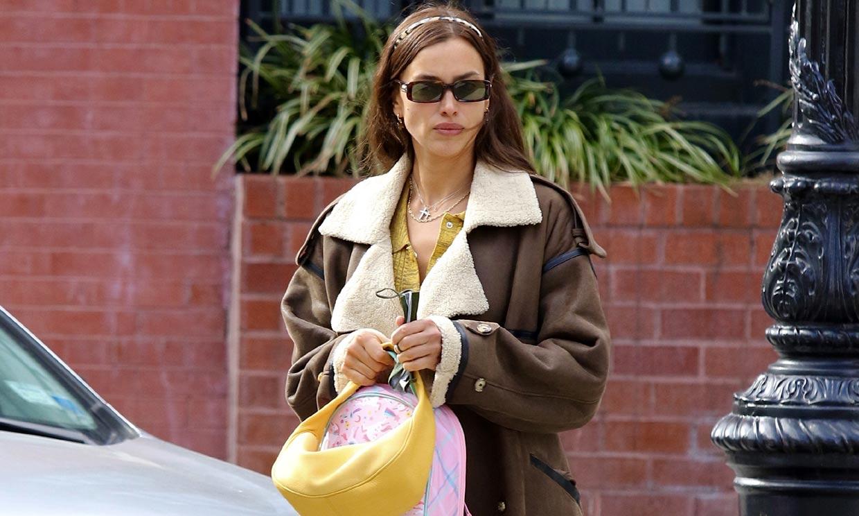 El 'efecto Letizia' se cuela ¿en el vestidor de Irina Shayk?