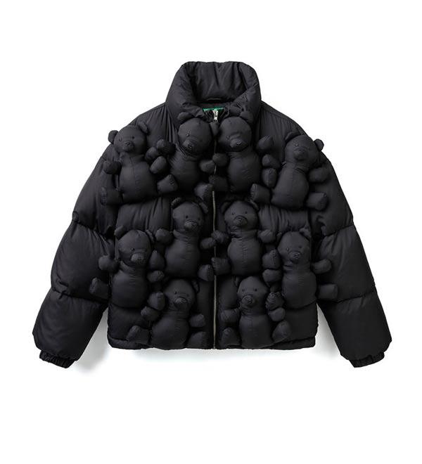 Abrigo de plumas de Benetton