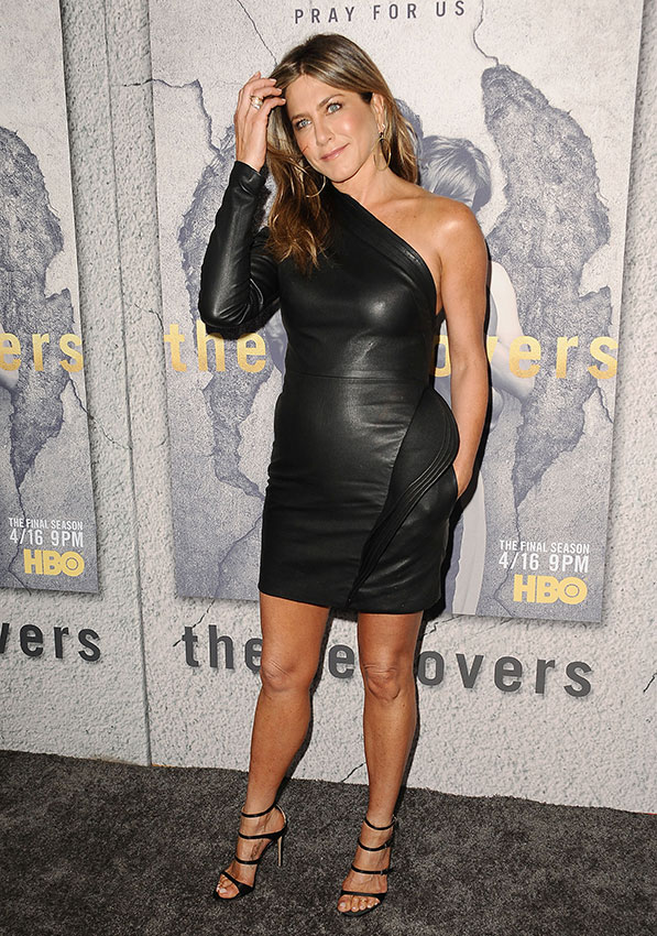Jennifer Aniston en la premiere de The Leftovers, en 2017