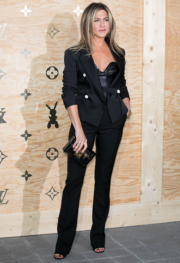 Jennifer Aniston en un evento de Louis Vuitton