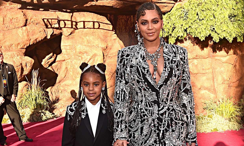 La verdadera estrella de la nueva campaña de Beyoncé es... ¡su hija Blue Ivy!