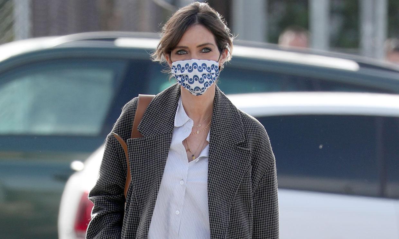 Sara Carbonero rescata el abrigo de tendencia que conectó a Leonor y Kate Middleton