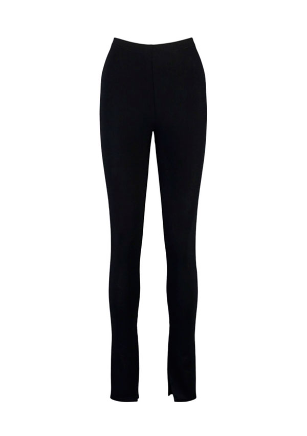 Leggings front split de Boohoo