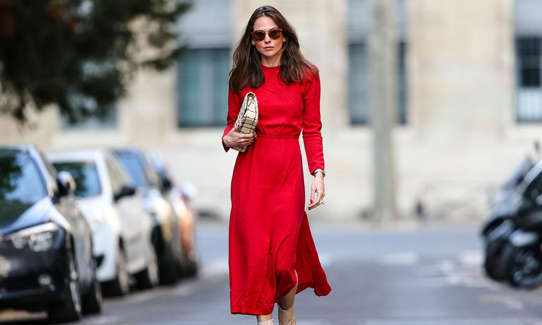 ¿Tu color favorito es tendencia? Ficha un vestido 'midi' hecho justo para ti
