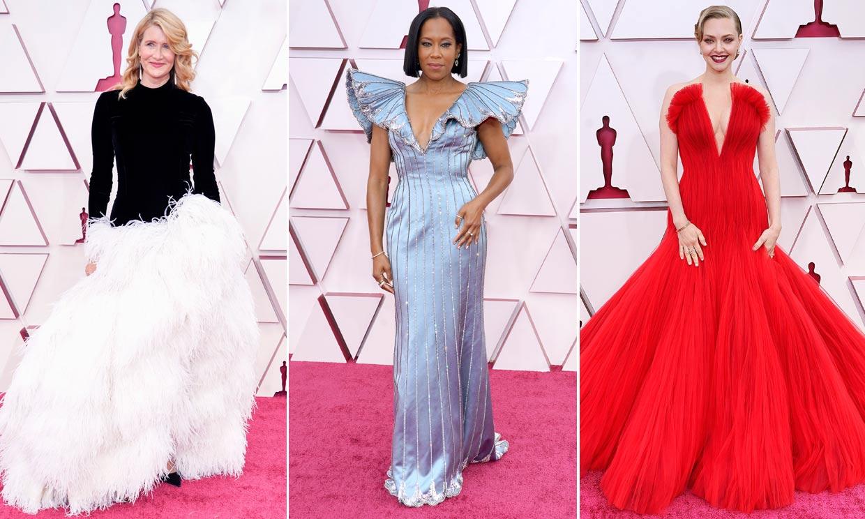 Y la mejor vestida en los Oscar 2021 según los lectores de ¡HOLA! fue...
