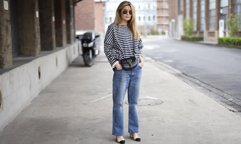10 looks con pantalón ancho y zapatos cómodos, la combinación ganadora