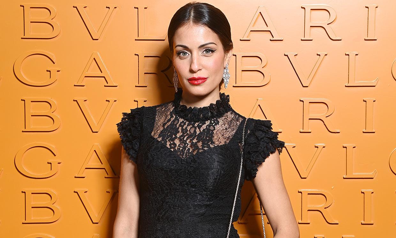 Hiba Abouk y Nieves Álvarez: seductores looks y joyas de impacto en Milán