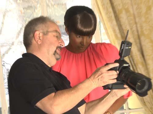 'Making of': Juanjo Oliva y Sessilee López, juntos con la moda para primavera-verano 2012