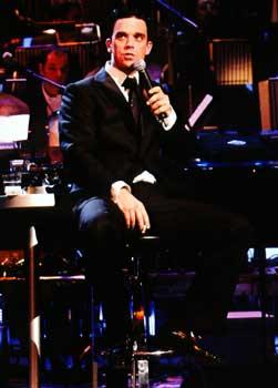 Robbie Williams firma el mayor contrato discográfico de la historia del Reino Unido