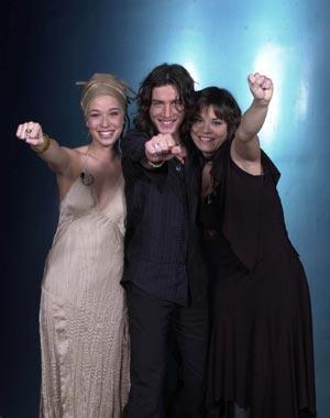 Ainhoa, Carrasco y Beth, vencedores de 'Operación Triunfo'