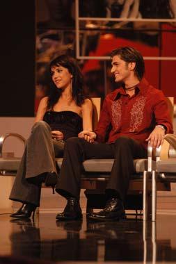 Punto de exclamación Empeorando Conversacional  Parejas de triunfo': Nika y Hugo, Danni Úbeda y Marey, Chenoa y ...