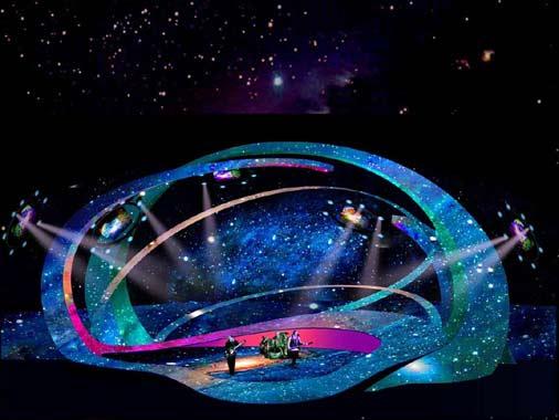 Así es el espectacular escenario en el que cantará Beth en Eurovisión