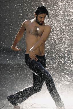 El bailarín Rafael Amargo, en su momento más dulce