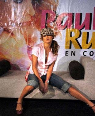 Paulina Rubio, arranca 'el huracán mexicano'
