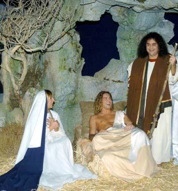 David Bisbal, de cantante triunfal a 'Niño Jesús' de un Belén viviente