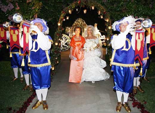 Carlos Marín, de Il Divo, se casó Geraldine Larrosa en Disneylandia