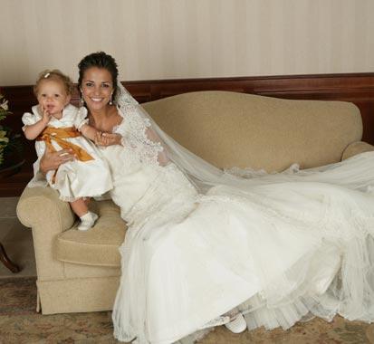 entrevista y fotografías exclusivas de la boda de david bustamante y