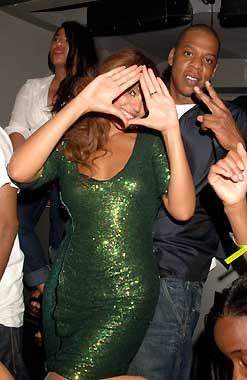 Beyoncé, Gwyneth Paltrow y Chris Martin cantaron con Jay-Z en Londres