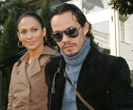 Jennifer López acompaña a Marc Anthony en su gira española
