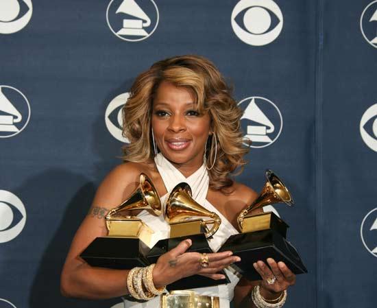 Las Dixie Chicks y Mary J. Blige, las grandes triunfadoras de los premios Grammy
