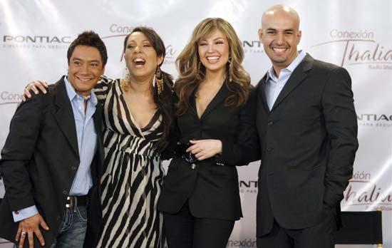Thalía debutará como presentadora de un programa radiofónico