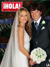 Vestido novia paulina rubio