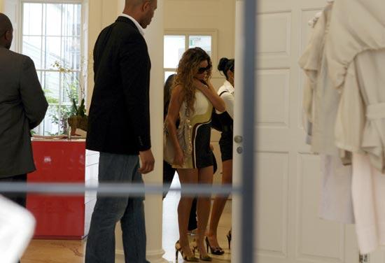 Beyoncé Knowles se lleva a su familia de gira