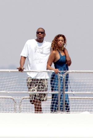 Las románticas vacaciones de Beyonce Knowles y su novio Jay Z en el sur de Francia