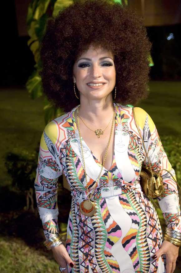 La colorista fiesta 'hippie' de Gloria Estefan en su cincuenta cumpleaños