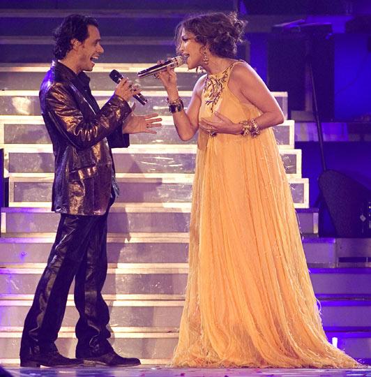 La noche más especial de Jennifer López y Marc Anthony sobre los escenarios