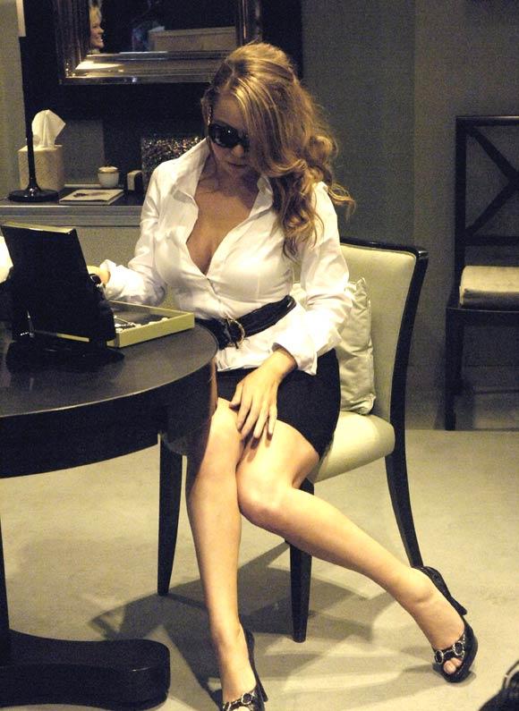 Mariah Carey, día de compras de una moderna 'pretty woman' en Rodeo Drive