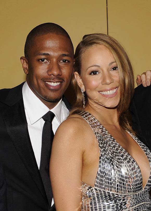 Mariah Carey y Nick Cannon en su primer acto público después de su luna de miel