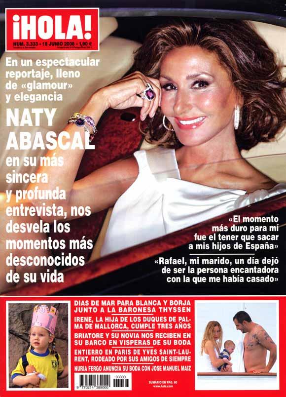 Nuria Fergó anuncia en ¡HOLA! su boda con José Manuel Maíz