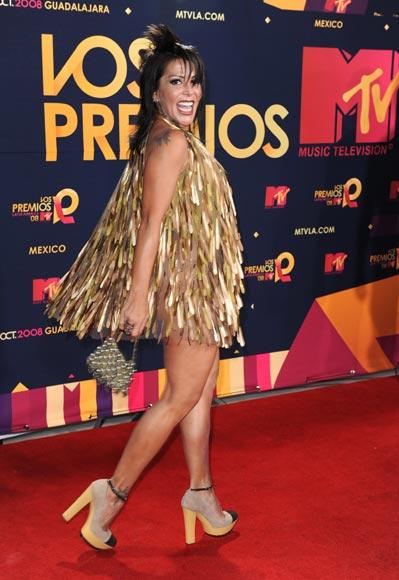 en los mtv music awards latinoamerica: