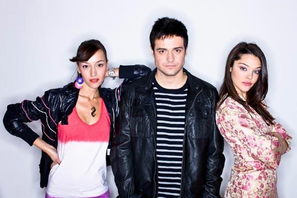 Leo Segarra, finalista de OT 5, ahora actor en una serie de televisión