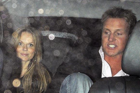 Geri Halliwell junto a un nuevo amor, un mes después de romper su compromiso con Fabrizio Politi