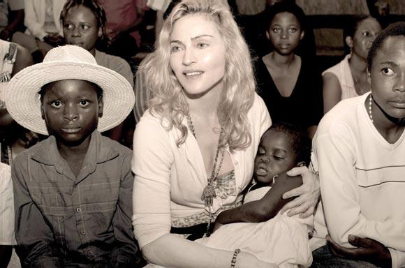 La particular lucha de Madonna para conseguir la adopción de Mercy