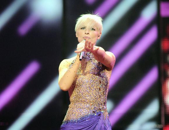 Soraya cuenta las horas para la gran final de Eurovisión