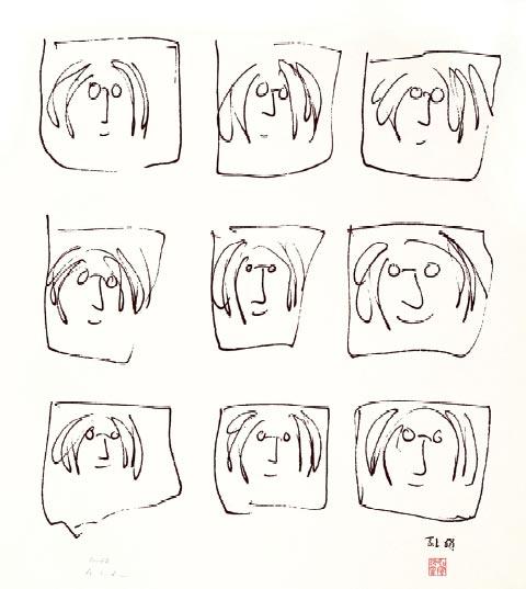 Londres saca a la luz la cara más íntima de John Lennon