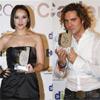 David Bisbal y Chenoa coinciden en la gala de entrega de los premios Cadena Dial