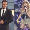 Ricky Martin reaparece y Paulina Rubio muestra su nuevo 'look' en los Billboard Latinos 2010