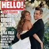 Gran exclusiva en HELLO!: La boda de Robbie Williams y Ayda Field, en su casa de Los Ángeles