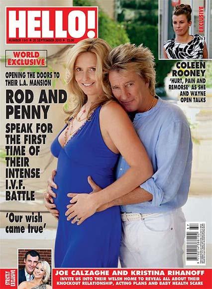Exclusiva mundial en la revista Hello!: Rod Stewart y Penny Lancaster hablan por primera vez de su lucha para ser padres de nuevo