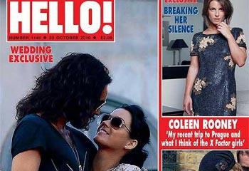 La revista Hello! desvela los detalles de la boda de Katy Perry y Russell Brand que será este fin de semana e