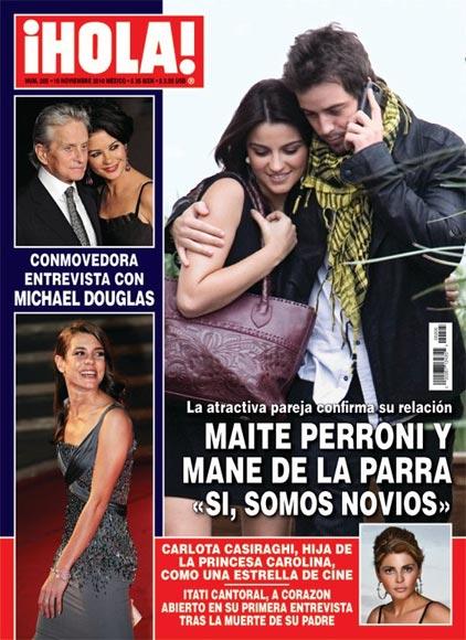 Esta semana en ¡HOLA! México: Maite Perroni, ex RBD, confirma su relación con Mané de la Parra
