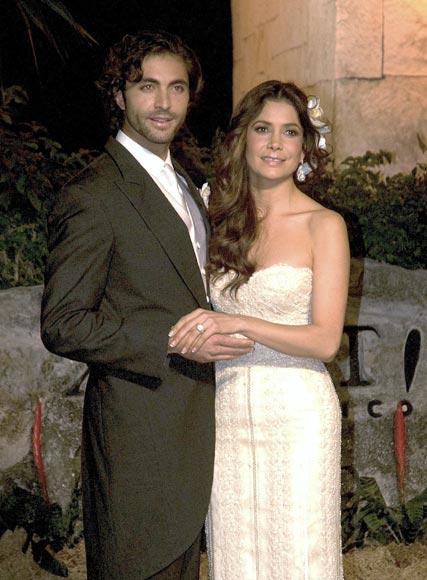 La cantante mexicana Patricia Manterola se casa en una romántica ceremonia en la Riviera Maya