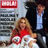 Exclusiva en ¡HOLA!: Paulina y Nicolás presentan a su hijo, Andrea Nicolás