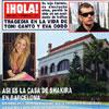 En ¡HOLA!: Así es la casa de Shakira en Barcelona