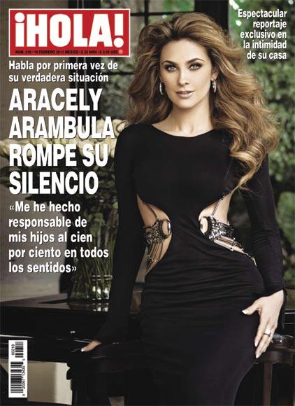 Entrevista exclusiva con Aracely Arámbula, la famosa actriz mexicana, madre de los hijos de Luis Miguel